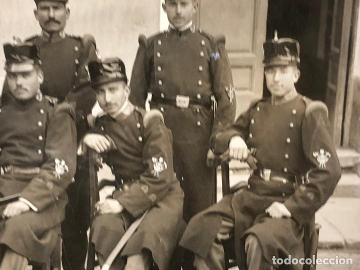 Militaria: fotografia militares gastadores zapadores infanteria alfonso XIII ppio S XX 27 x 16 cm - Foto 6 - 112522003