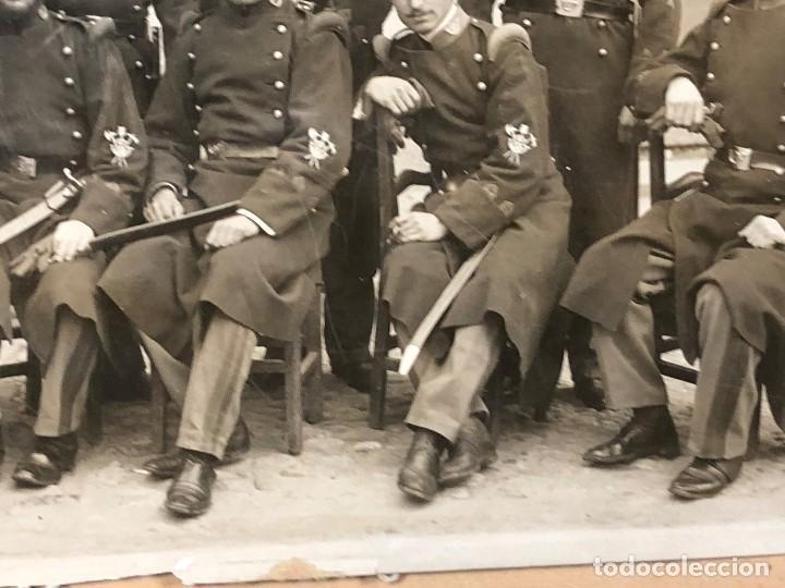 Militaria: fotografia militares gastadores zapadores infanteria alfonso XIII ppio S XX 27 x 16 cm - Foto 7 - 112522003