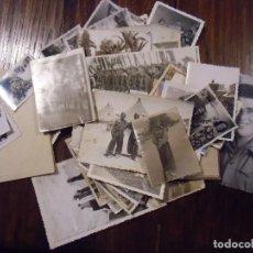 Militaria: LOTE DE 55 FOTOGRAFÍAS MILITARES, AÑOS 40-50,DISTINTOS FORMATOS.. Lote 112689151