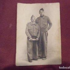 Militaria: GUERRA CIVIL.FRENTE DE MADRID,FOTO KAULAK, 15´5X11 CM.. Lote 112785279