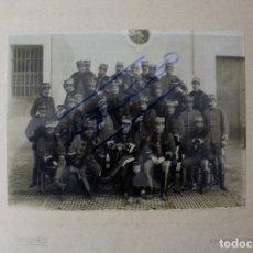Militaria: FG-313. REGIMIENTO LANCEROS DE LA REINA, 2º DE CABALLERIA. FOTOGRAFIA ORIGINAL. PRINCIPIOS S. XX.. Lote 112937507