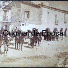 Militaria: (JX-180203)FOTOGRAFÍA ALBUMINA DEL GENERAL D.MARIANO BRETÓN Y DEL GENERAL D.SABINO GAMIR MALADEN. Lote 112980871