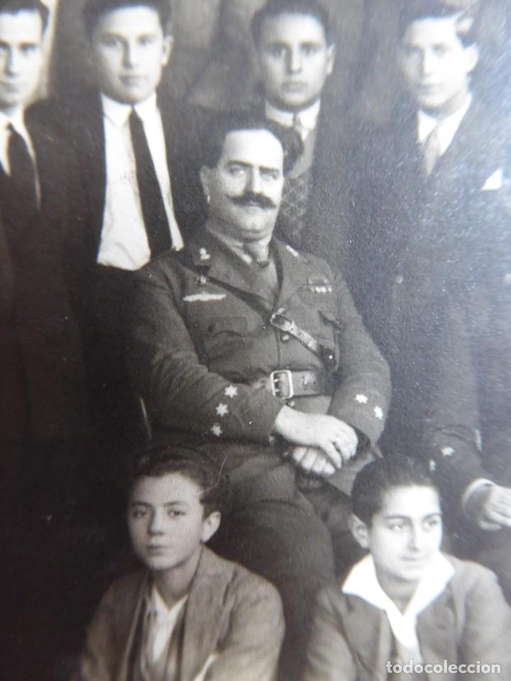 FOTOGRAFÍA CAPITÁN PILOTO DEL EJÉRCITO ESPAÑOL. ROKISKI (Militar - Fotografía Militar - Otros)
