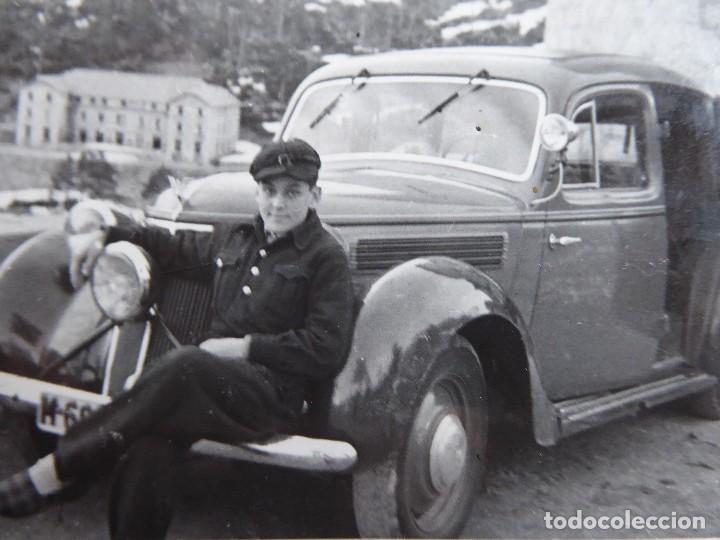 FOTOGRAFÍA NIÑO FRENTE JUVENTUDES. (Militar - Fotografía Militar - Otros)
