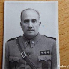 Militaria: FOTOGRAFÍA CAPITÁN HABILITADO INFANTERÍA DEL EJÉRCITO NACIONAL. GUERRA CIVIL. Lote 113170131