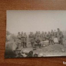 Militaria: FOTO GRUPO DE SOLDADOS CON ARMAMENTO. Lote 113223383
