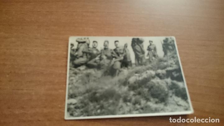 FOTO GRUPO DE SOLDADOS (Militar - Fotografía Militar - Otros)