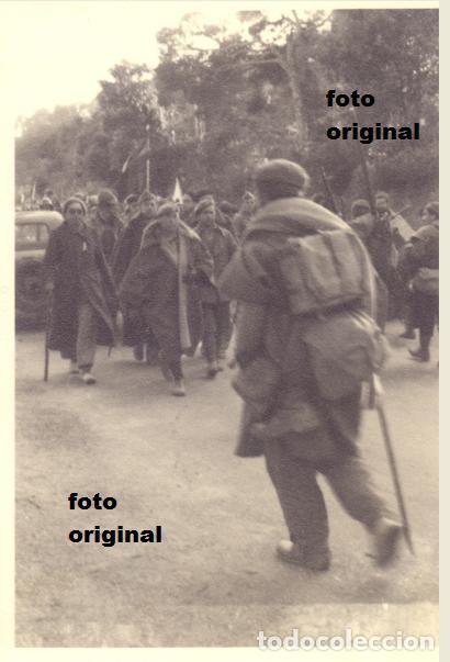 TROPAS NACIONALES EN LA ZONA MEQUINENZA, FRAGA(HUESCA) 1938 GUERRA CIVIL LEGION CONDOR (Militar - Fotografía Militar - Guerra Civil Española)