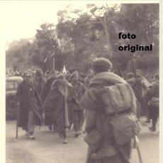 Militaria: TROPAS NACIONALES EN LA ZONA MEQUINENZA, FRAGA(HUESCA) 1938 GUERRA CIVIL LEGION CONDOR. Lote 113269611