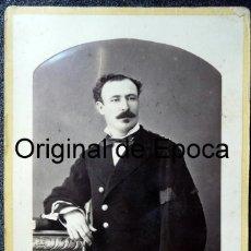 Militaria: (JX-180241)FOTOGRAFÍA TENIENTE CORONEL Y GOBERNADOR DE PUERTO RICO D.SABINO GAMIR MALADEN.FILIPINAS. Lote 113273719