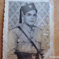 Militaria: FOTOGRAFÍA OFICIAL REGULARES.. Lote 113288247