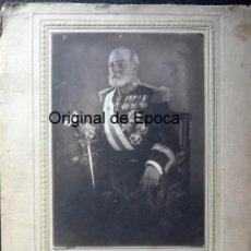 Militaria: (JX-180277)FOTOGRAFÍA DEL GENERAL D.MARIANO BRETÓN Y BRETÓN,REALIZADA EN BARCELONA,DEDICADA,1928. Lote 113352231