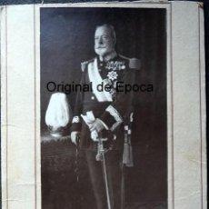 Militaria: (JX-180278)FOTOGRAFÍA DEL GENERAL D.MARIANO BRETÓN Y BRETÓN,REALIZADA EN BARCELONA,DEDICADA.. Lote 113352639