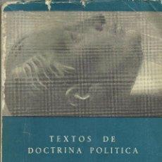 Militaria: TEXTOS COMPLETOS DE JOSE ANTONIO PRIMO DE RIVERA. Lote 113404655