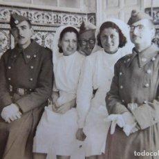 Militaria: FOTOGRAFÍA SOLDADOS SANIDAD MILITAR DEL EJÉRCITO ESPAÑOL. MADRID. Lote 113482523
