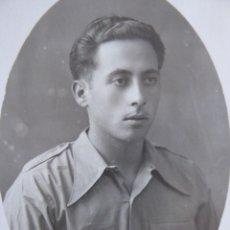 Militaria: FOTOGRAFÍA SOLDADO DEL EJÉRCITO POPULAR DE LA REPÚBLICA. 1938. Lote 113483547