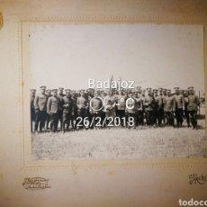 Militaria: FOTOGRAFÍA DE MILITARES DE CABALLERIA DE MANIOBRAS. PINCIPIOS DEL SIGLO XX. 23X17CM. SIN PARPASTU.. Lote 113527468