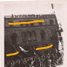 Militaria: FOTO DESFILE GUERRA CIVIL BARCELONA LEGION CONDOR PALAU ROBERT. Lote 113684779