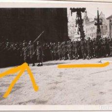 Militaria: FOTO DESFILE GUERRA CIVIL BARCELONA LEGION CONDOR PALAU ROBERT POMPEIA. Lote 113686667