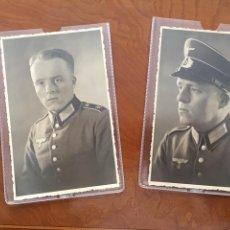 Militaria: DOS FOTO POSTALES DE ESTUDIO III REICH. Lote 113718667
