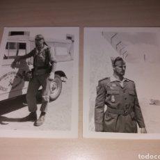 Militaria: ANTIGUAS FOTOGRAFÍAS SOLDADO TERCIO SAHARIANO - CAPITANÍA GENERAL D CANARIAS - SECTOR DEL SAHARA. Lote 113733347