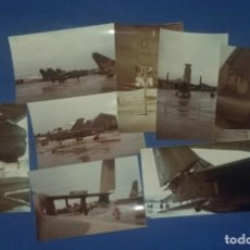 Militaria: COLECCION DE 21 FOTOGRAFIAS DE AVIONES PUERTO RICO AIR NATIONAL GUARD- US AIR FORCE. Lote 113870383