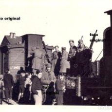 Militaria: TREN MILITAR CTV ESTACION ALCAÑIZ (TERUEL) DIVISION LITTORIO 1938 GUERRA CIVIL. Lote 113962755