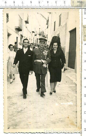 Militaria: FOTOGRAFIA MILITAR EX DIVISION AZUL, CONDECORADO CON CRUZ DE HIERRO, DIVISON ............... - Foto 2 - 114380699