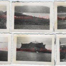 Militaria - Lote fotos Legion Condor La Coruña Guerra Civil Jardines Mendez Nuñez Castillo San Anton - 114400063