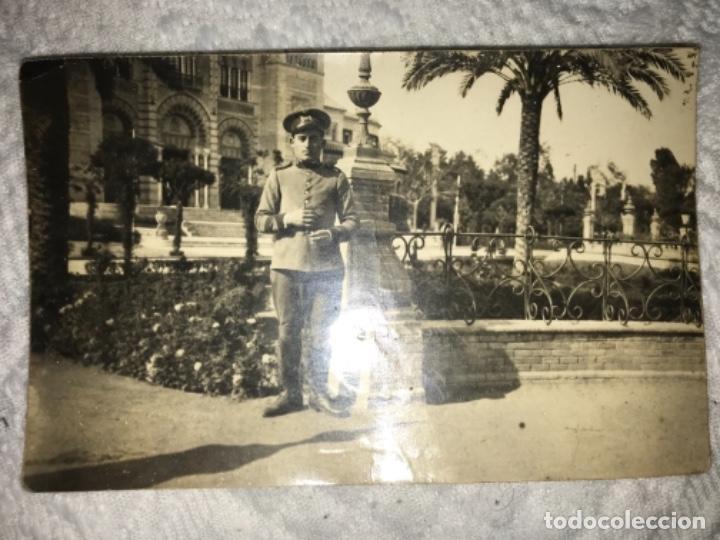 ANTIGUA POSTAL FOTOGRÁFICA SOLDADO REGIMIENTO RESERVA DE CABALLERÍA CON SELLO - MUY RARA (Militar - Fotografía Militar - Otros)