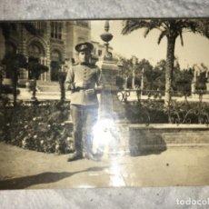 Militaria: ANTIGUA POSTAL FOTOGRÁFICA SOLDADO REGIMIENTO RESERVA DE CABALLERÍA CON SELLO - MUY RARA . Lote 114485251