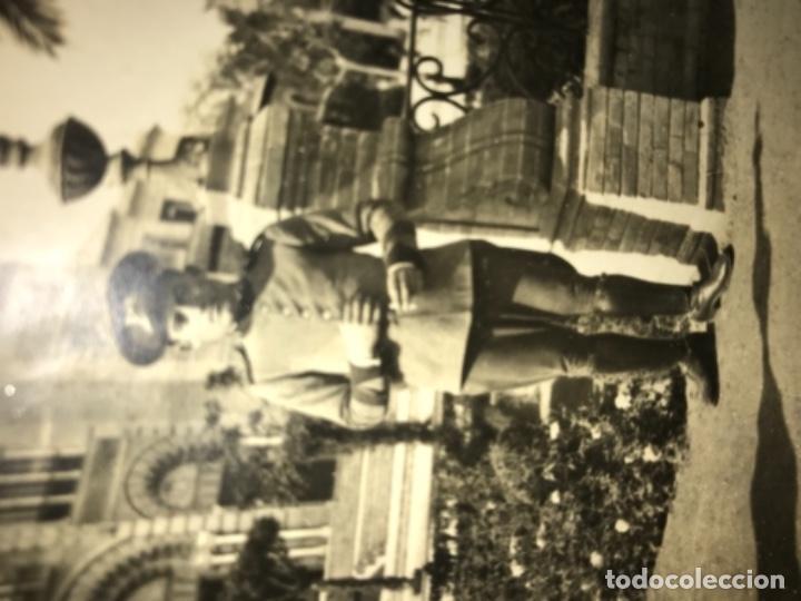 Militaria: ANTIGUA POSTAL FOTOGRÁFICA SOLDADO REGIMIENTO RESERVA DE CABALLERÍA CON SELLO - MUY RARA - Foto 3 - 114485251