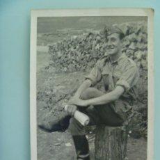 Militaria - GUERRA CIVIL : FOTO DE MILITAR NACIONAL DE ARTILLERIA . SARGENTO O BRIGADA ? - 114579267
