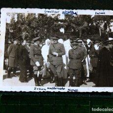 Militaria: FOTO GOBIERNO PROTECTORADO MARRUECOS CON NOTABLES. Lote 114621379