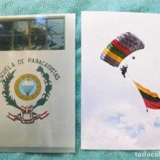 Militaria: LOTE DE 2 FOTOS DE PARACAIDISTAS. Lote 114631267