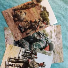 Militaria: LOTE DE 3 FOTOS SOLDADOS ESPAÑOLES. Lote 114631871
