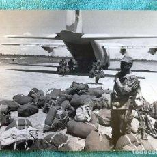Militaria: FOTO SOLDADOS MARROQUIES EN EL SAHARA. Lote 114632399