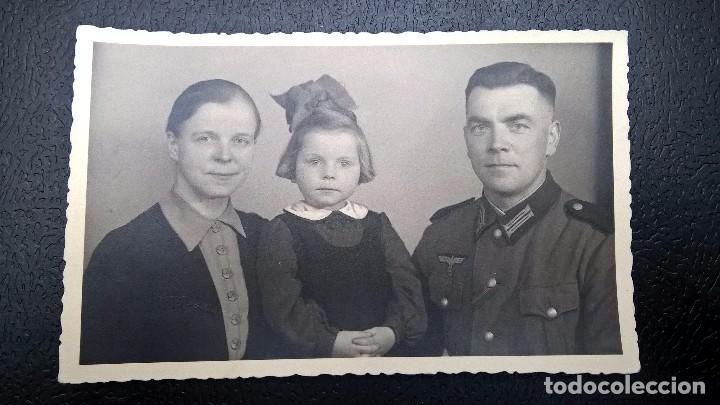 FOTO SOLDADO ALEMAN (Militar - Fotografía Militar - II Guerra Mundial)