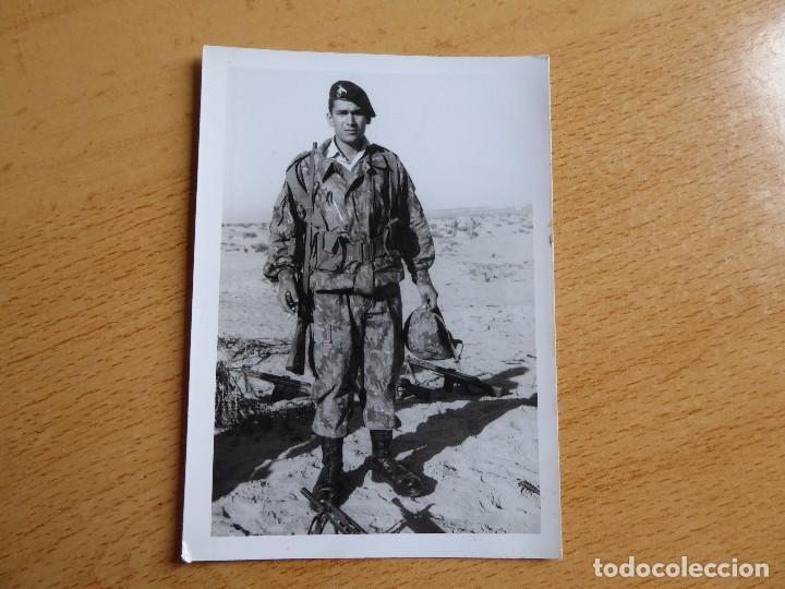 Militaria: Fotografía paracaidista Brigada Paracaidista. Traje de salto camuflaje BRIPAC - Foto 2 - 114739567