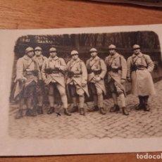 Militaria: FOTO POSTAL PRIMERA GUERRA MUNDIAL FRANCESA . Lote 114750791