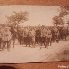 Militaria: FOTO POSTAL PRIMERA GUERRA MUNDIAL . Lote 114751991