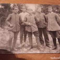 Militaria: FOTO POSTAL PRIMERA GUERRA MUNDIAL . Lote 114752183