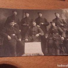 Militaria: FOTO POSTAL PRIMERA GUERRA MUNDIAL . Lote 114752831