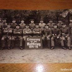 Militaria: FOTO POSTAL PRIMERA GUERRA MUNDIAL . Lote 114752947
