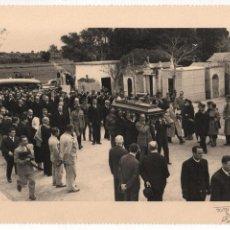 Militaria: ALFONSO DE BORBON, ENTIERRO DEL INFANTE- 2 DE ABRIL 1956, FOTO:ARTELUZ- BENFICA-LISBOA, VER FOTOS. Lote 114887743