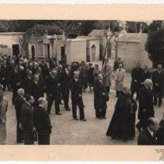 Militaria: ALFONSO DE BORBON, ENTIERRO DEL INFANTE- 2 DE ABRIL 1956, FOTO:ARTELUZ- BENFICA-LISBOA, VER FOTOS. Lote 114888531