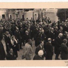 Militaria: ALFONSO DE BORBON, ENTIERRO DEL INFANTE- 2 DE ABRIL 1956, FOTO:ARTELUZ- BENFICA-LISBOA, VER FOTOS. Lote 114888591