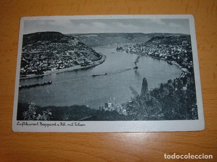POSTAL ALEMANA III REICH.CON SELLO DE ADOLF HITLER (Militar - Fotografía Militar - II Guerra Mundial)
