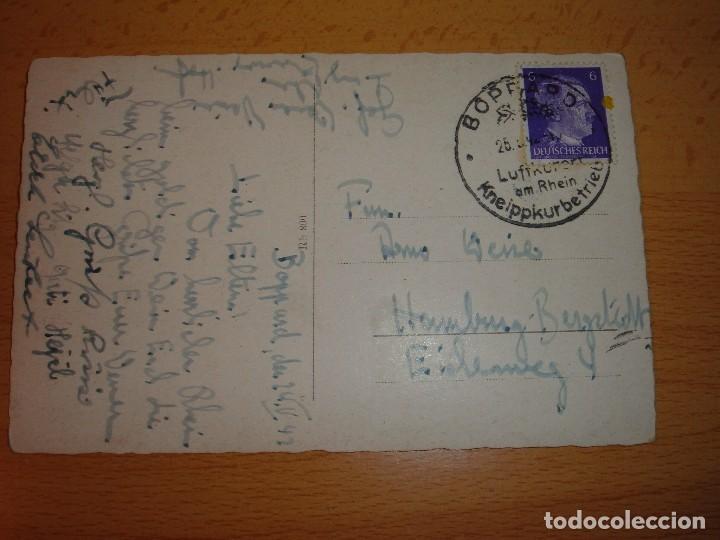 Militaria: POSTAL ALEMANA III REICH.CON SELLO DE ADOLF HITLER - Foto 2 - 115028335