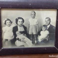 Militaria: FOTO DE LA FAMILIA DE D.JUAN DE BORBON Y Dª. Mª DE LAS MERCEDES CON SUS HIJOS. Lote 115165487